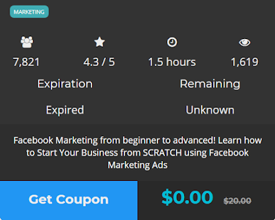 How to get paid Udemy courses and coupons for free.