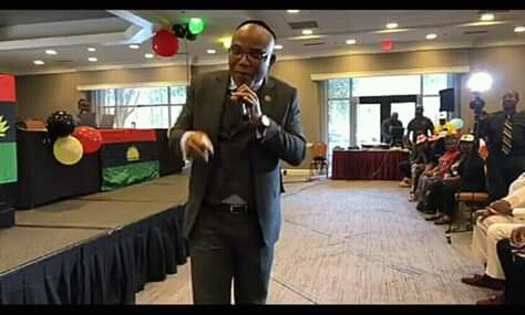 When Biafra comes, I Will take Axe and Destroy my father Throne, Says Nnamdi Kanu