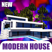 Modern House for MCPE