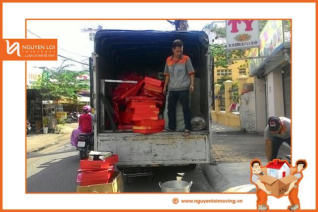 Thuê xe tải chở hàng 1 tấn 4