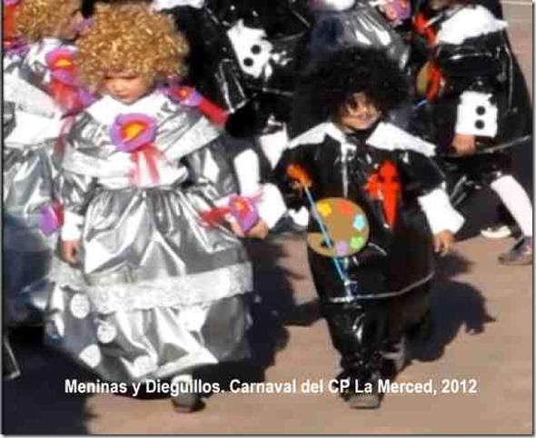 Meninas y Dieguillos. Carnaval del CP La Merced, 2012 r 1
