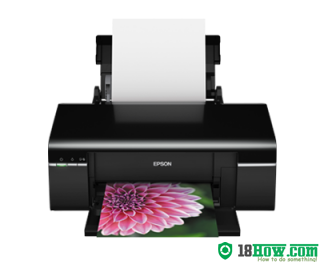 How to reset flashing lights for Epson R330 printer