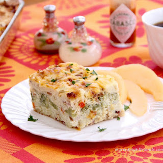 Egg Casserole for Breakfast Time or Anytime!.