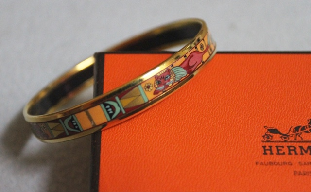 Authentic Hermes Limited Edition Bangle