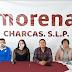 CHARCAS: PROFR. JUAN EYSMAR BERNAL ROMERO CANDIDATO DE UNIDAD POR MORENA