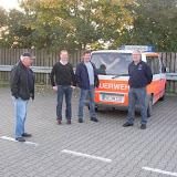 Abholen des neuen Staffellöschfahrzeuges StLF 10/6 bei der Fa. Ziegler in Mühlau bei Chemnitz