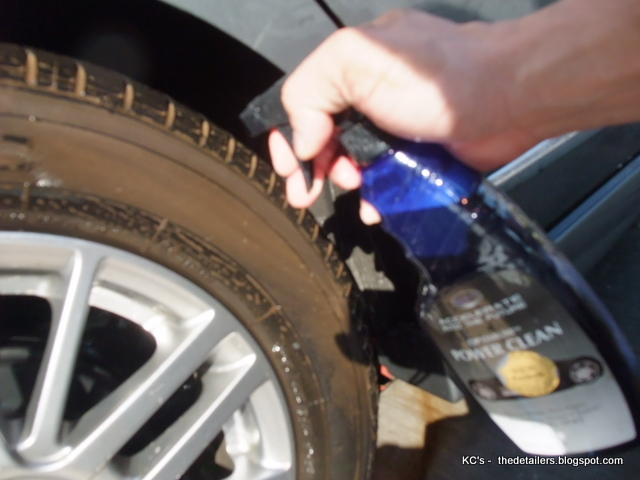 how to clear the wheels without damaging the clear coat