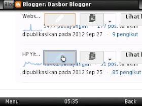 dashboard blogger versi baru