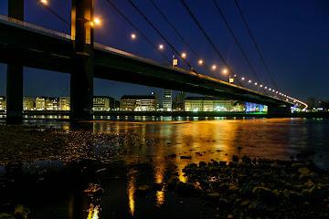 Under the Bridge Rhein Dusseldorf