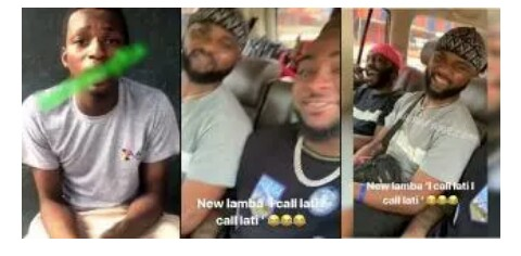 Davido mocks the boy he promised 1million