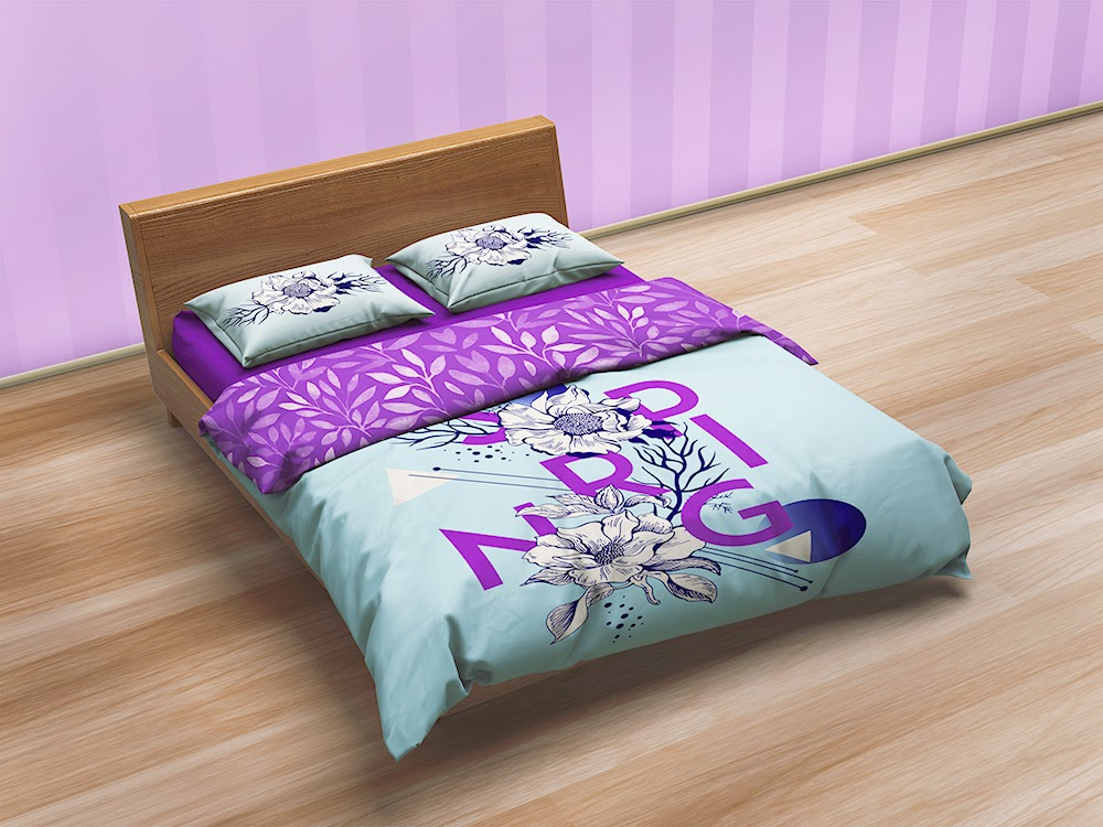 Cool Bedding Sets u Bed Linen Mockup BUY NOW http graphicriver net item beddi