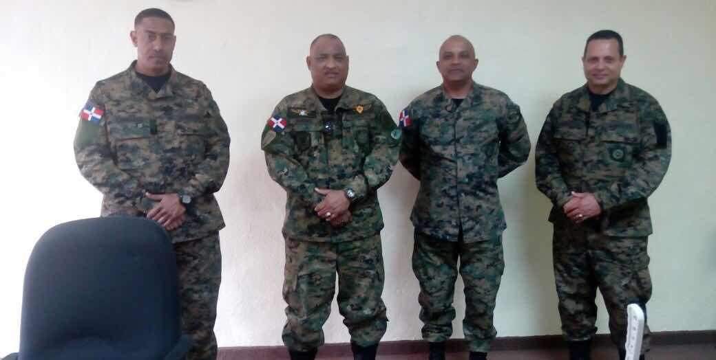 Inspector General del Ejército de República Dominicana visita a EGEMERD.