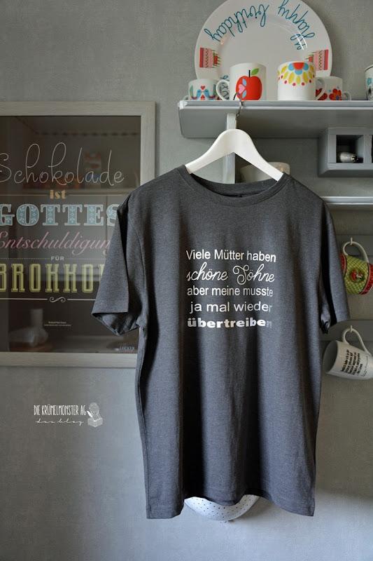 T-Shirt Christopher (01) Viele Mütter haben schöne Söhne