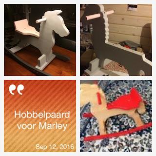 Hobbelpaard geverfd met Made@Home en Autentico krijtverf
