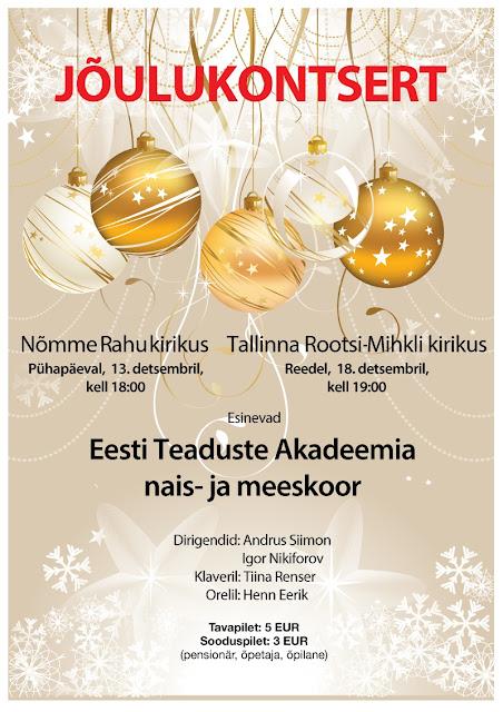 Jõulukontsert