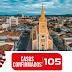 Serra Talhada: Salta para 105 o número de casos confirmados de Covid-19
