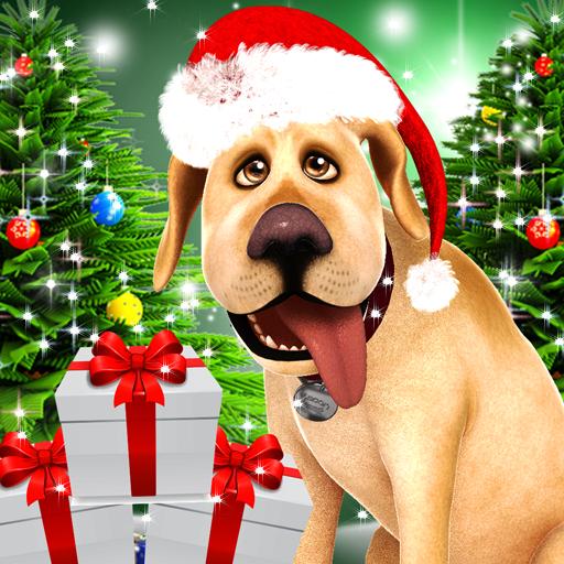 Dog Advent Calendar for Xmas Icon
