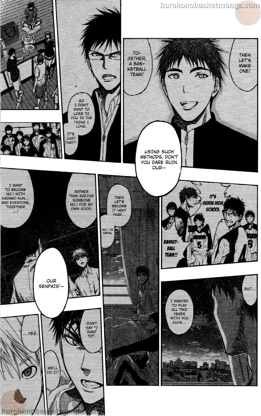Kuroko no Basket Manga Chapter 107 - Image 11