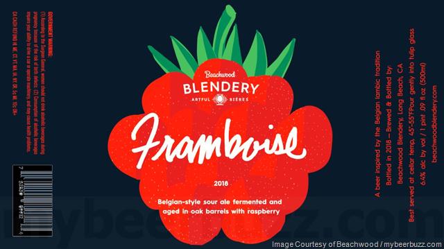 Beachwood Blendery Adding Kriek & Framboise 2018 Bottles