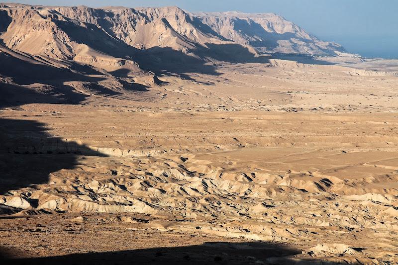 Widok z Masady.
