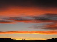 Potosi sunset