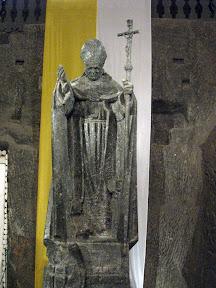 Papież zawitał nawet to kopalni soli w Wieliczce