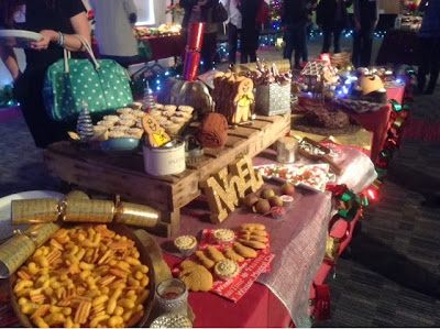 Noel table of sweet Christmas treats