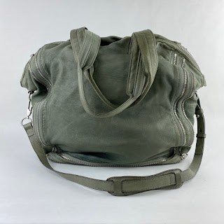 Alexander Wang Moss Green Leather Bag