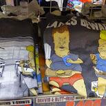 Beavis & Butt-head T-shirts at Donki Hote in Roppongi in Tokyo, Tokyo, Japan