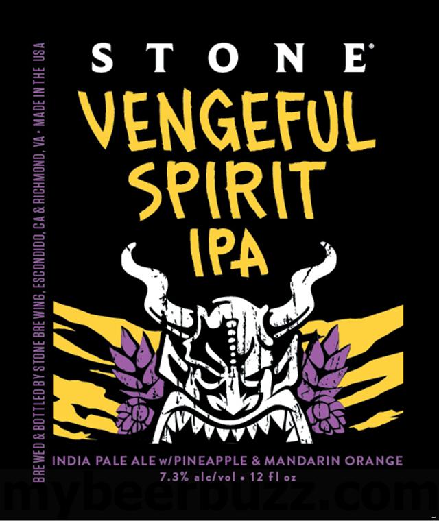 Stone Adding Vengeful Spirit IPA Bottles
