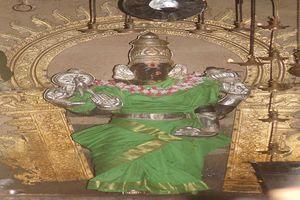 Mayiladuthurai Temple Goddess Anjal Nayaki