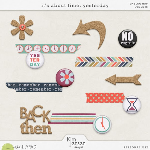 DSD Blog Hop! It's About Time: Yesterday