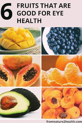Apricots, Avocado, Blueberries, Mango, OrangeAre Good for Eye Health