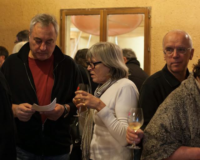 Michel et Dominique Dexant avec Michel Boutant
