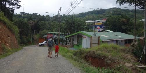 Santa Elena town Costa Rica