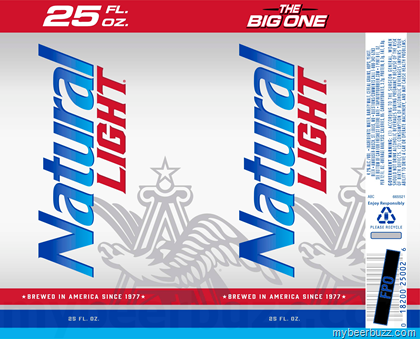 Natural Light Beer Official Colors