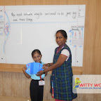 World Kindness Day Celebrated by Grade 1 at Witty World, Chikoowadi (2017-18)