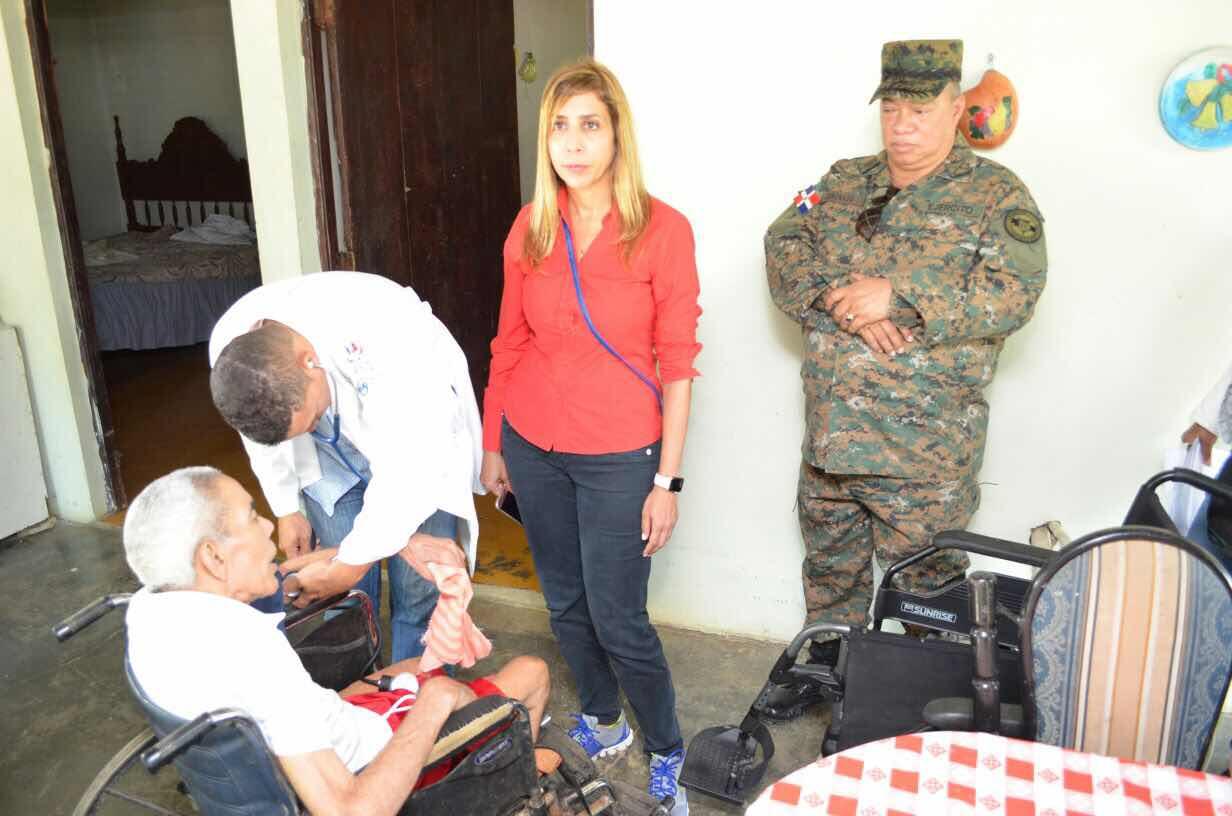 MIDE, DIGEV y Despacho de la Primera Dama realizan Acción Cívica en Cutupu Provincia la Vega