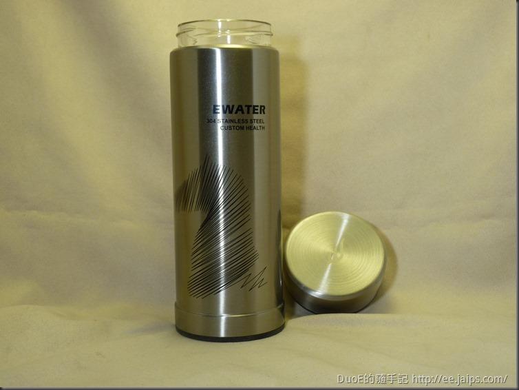 EWATER可拆式玻璃內膽保溫杯-外觀