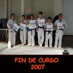 FIN DE CURSO 2007