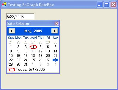 EnGraph Datebox .NET v1.0