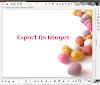 Como exportar una presentación de LibreOffice Impress a imágenes
