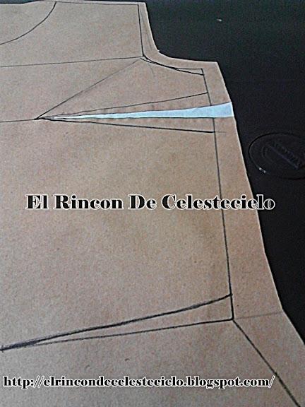 Eliminando la pinza de busto al costado en la cintura