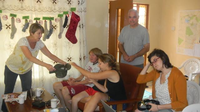 gift exchange, Christmas Mochudi 2011