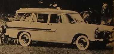 Simca 1960 Vedette Marly