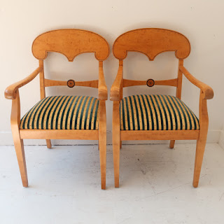 Empire-Style Chair Pair
