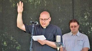 Világos Krisztián plébános - Bárdudvarnok Falunap 2015