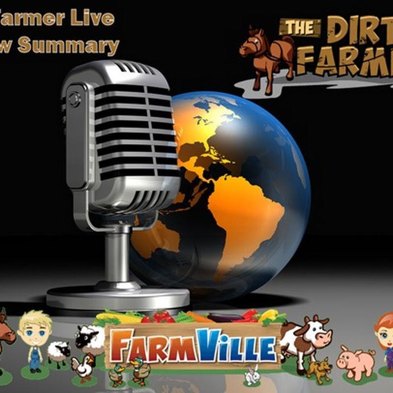 Dirt Farmer Live Show Summary