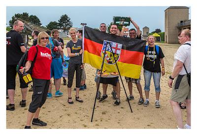 GeoXantike 2015 - Die Saarländer beim Einmarsch der Nationen