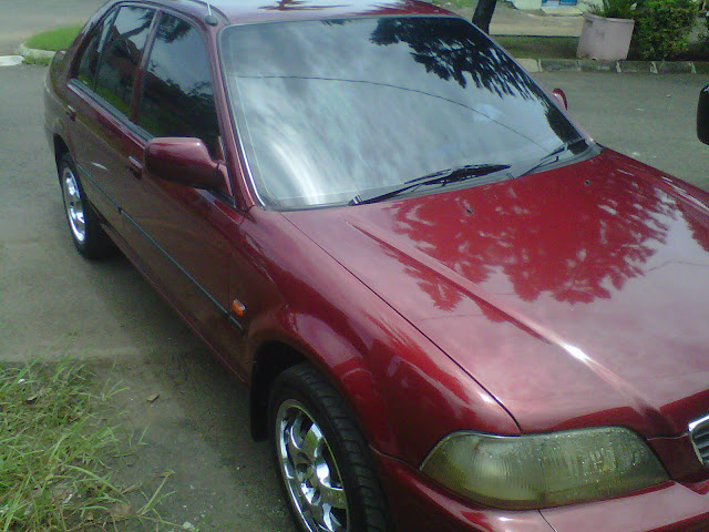 JUAL: Honda City Persona Merah,1996/1997,1300cc,Pajak